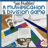 Multiplication and Division Game for Word Problems and Basic Facts