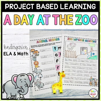 Zoo Project Based Learning June - Kindergarten