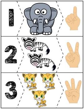Zoo Quantity Puzzles