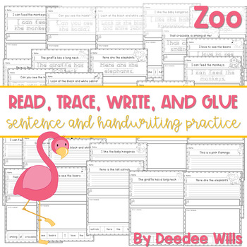 Zoo: Read, Trace, Glue, and Draw
