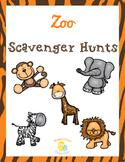Zoo Scavenger Hunts