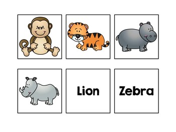 Zoo Sentence Completion Book