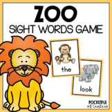 Zoo Sight Words Game