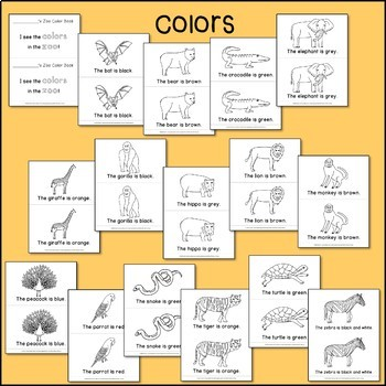 Zoo Sight Word Readers