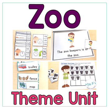 Zoo: Special Ed Thematic Unit