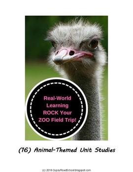 Zoo Studies : Sixteen Animal-themed Unit Studies to Rock your Zoo Field Trip!