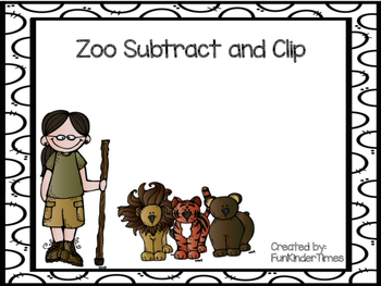 Zoo Subtract & Clip