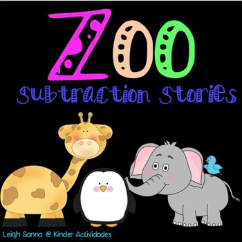 Zoo Subtraction Word Problems