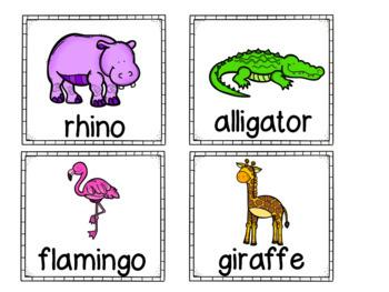 Zoo Syllables