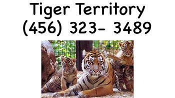Zoo Telephone Book