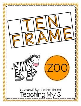 Zoo Ten Frame