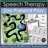 Zoo Dramatic Play: Speech and Language Therapy