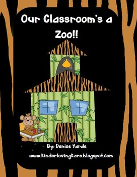 Zoo Thematic Unit Literacy and Math