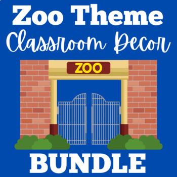 Zoo Theme Classroom   Zoo Classroom Decor   Zoo Animals Classroom Decor