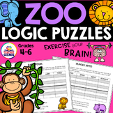 Zoo Theme Logic Puzzles