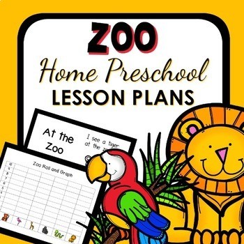 Zoo Theme Home Preschool Lesson Plans