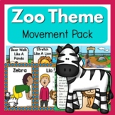 Zoo Theme Movement Pack