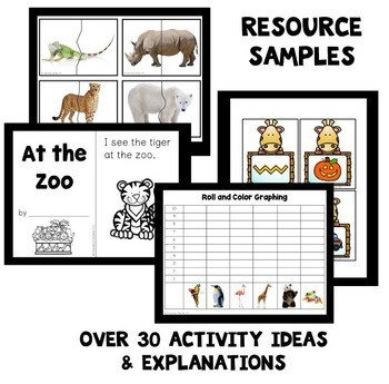 Zoo Theme Preschool Classroom Lesson Plans