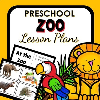 Zoo Theme Preschool Lesson Plans By Eceducation101 Tpt