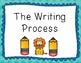 Zoo Theme Writing Process Clip Chart