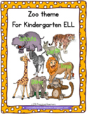 Zoo Theme for Preschool English Language Learners