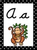 Zoo Themed Cursive Alphabet Wall Display