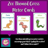 Zoo Themed Gross Motor Cards