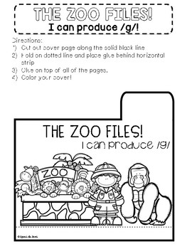 Zoo Themed Interactive Articulation Notebook
