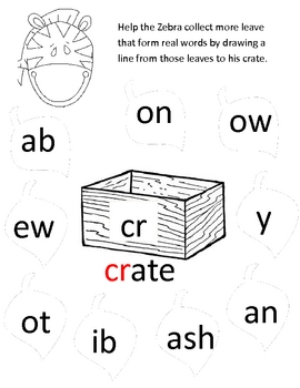 Zoo Themed Literacy Activity Book