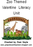 Zoo Themed Valentine Literacy Fun Ideas