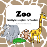 Zoo Toddler Lesson Plan