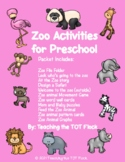 Zoo Toddler Packet
