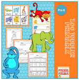 Zoo Toddler Printable