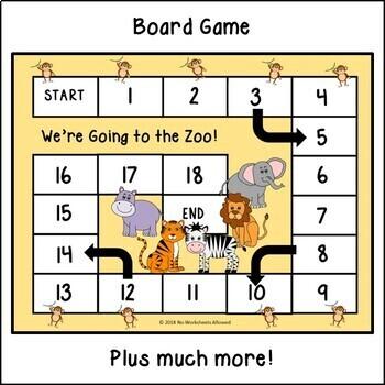 Zoo Animal Activities, Games & Resources