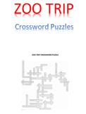 Zoo Trip Crossword Puzzles