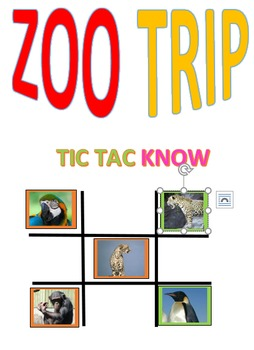 Zoo Trip Tic Tac Know