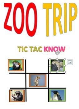 Zoo Trip Tic Tac Know