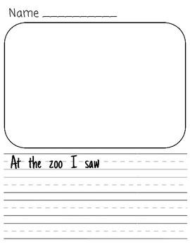 Zoo Trip Writing