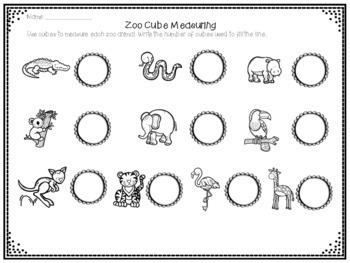 Zoo Cube Measuring