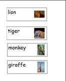 Zoo Animals Preschool Unit
