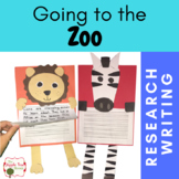 Zoo Research, Writing, Crafts Unit