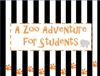 Zoo Unit: First Grade