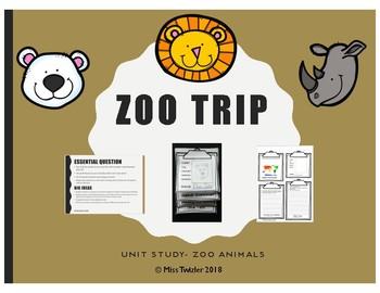 Zoo Unit- For Homeschoolers