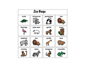 Zoo Unit for Autistic Children and Children with Language Delays