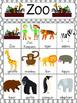 Zoo Vocabulary Cards