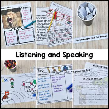 Zoo Vocabulary Unit
