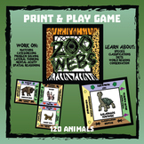 Zoo Webs -- Print & Play Game - Wildlife Conservation Learning