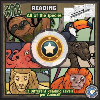 Zoo Wild -- Wildlife Activity Sheet eBook -- Volume 3