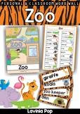 Zoo Word Wall