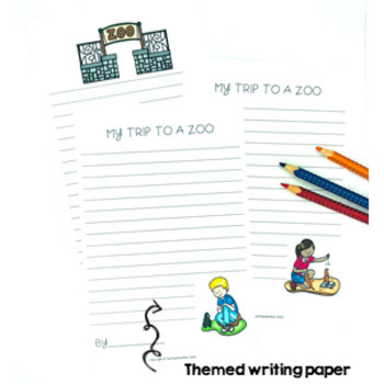 Zoo Writing Activity